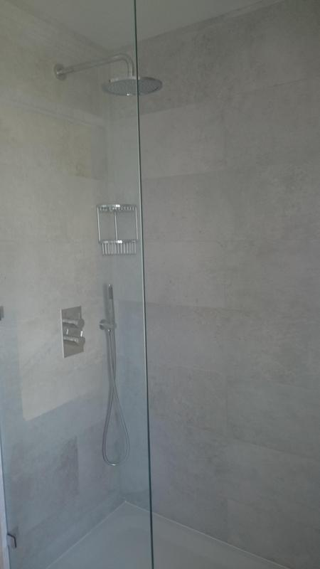 Image 17 - View of finished bathroom suite.