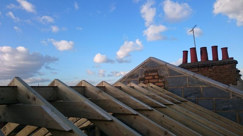 Image 11 - Complete new roof structure