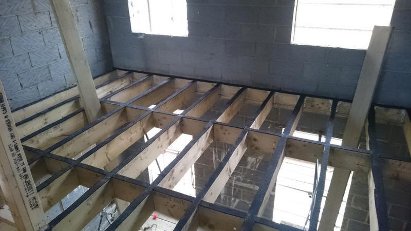 Image 18 - Timber floor structure, new build