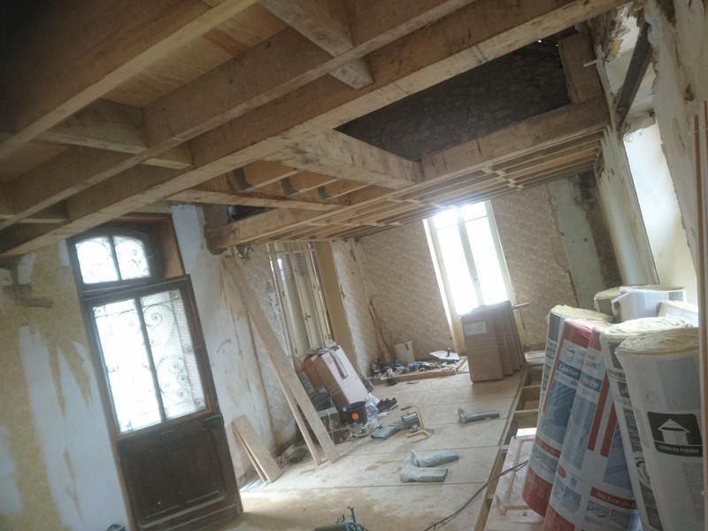Image 34 - Massive oaks going in for mesamine rooms