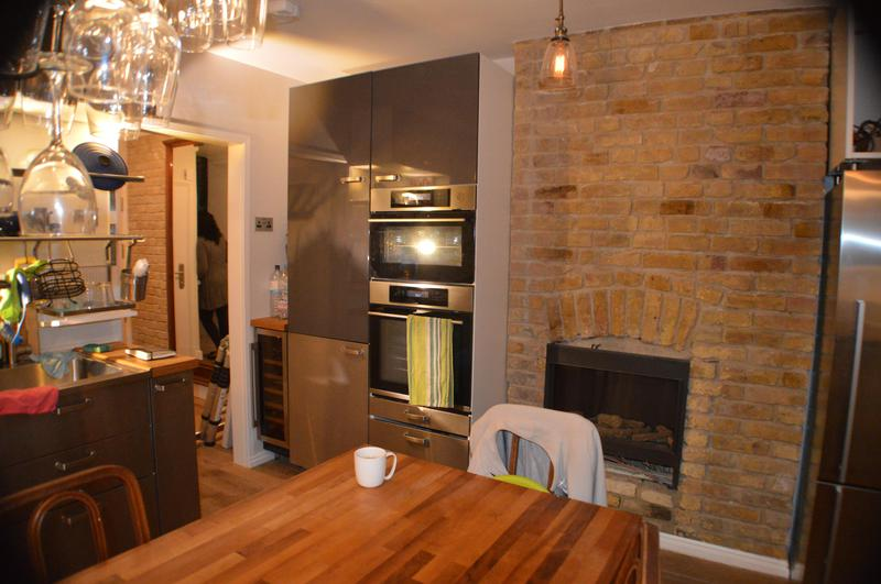 Image 6 - Refurbish kitchen, feature wall and open fireplace
