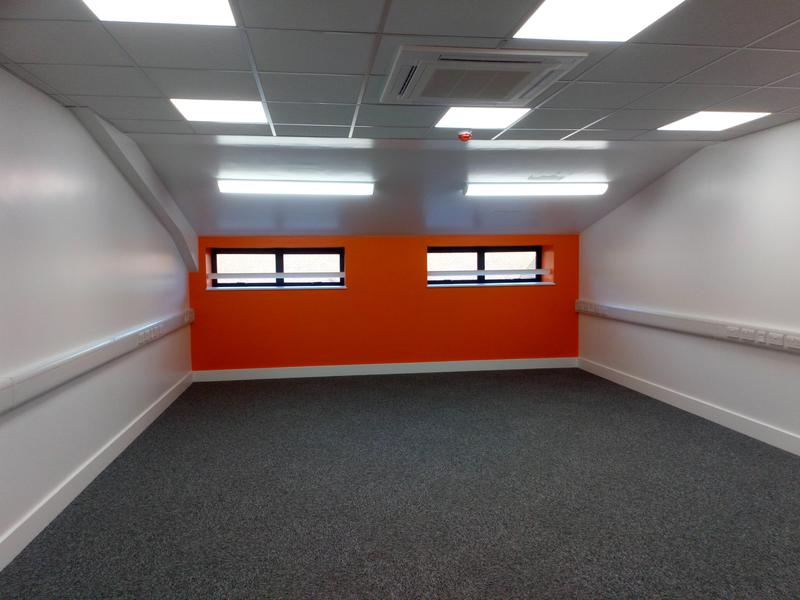 Image 12 - Commercial office, finished in Dulux Diamond Paint.