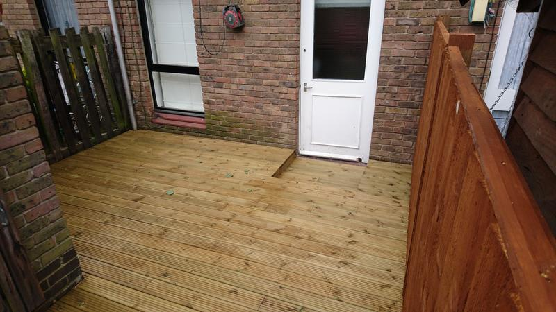 Image 20 - Our recently completed decking project