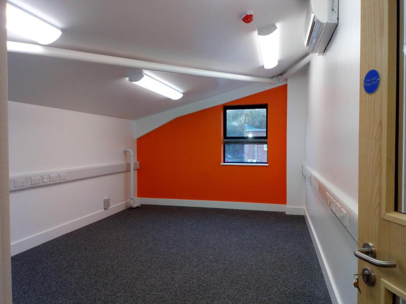 Image 11 - Commercial office, finished in Dulux Diamond Paint.