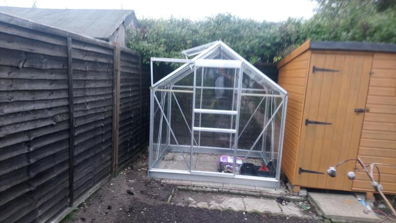 Image 13 - Build a greenhouse refitted with toughened glass