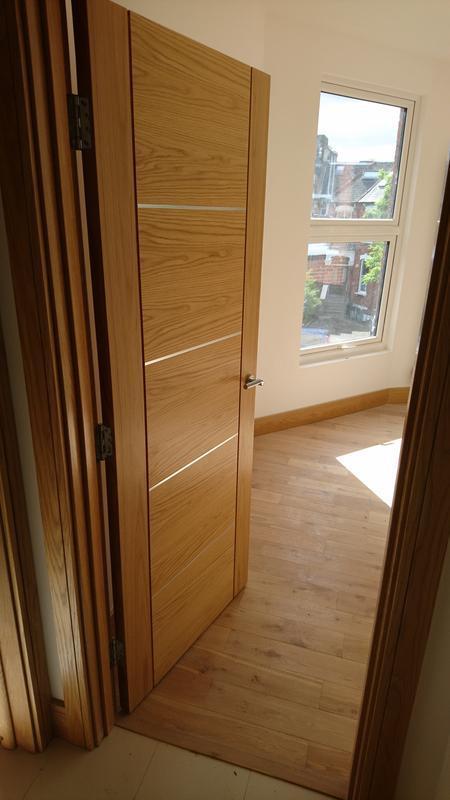 Image 9 - Solid oak door installation