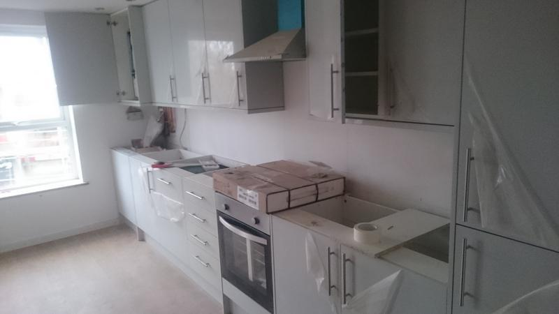 Image 2 - Kitchen ready for marble worktop fitting