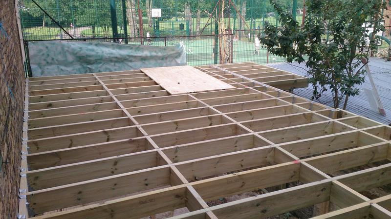 Image 24 - Flat roof for restaurant extension