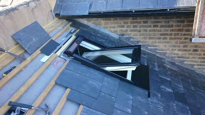Image 14 - conservation velux rooflight installation, allenby road
