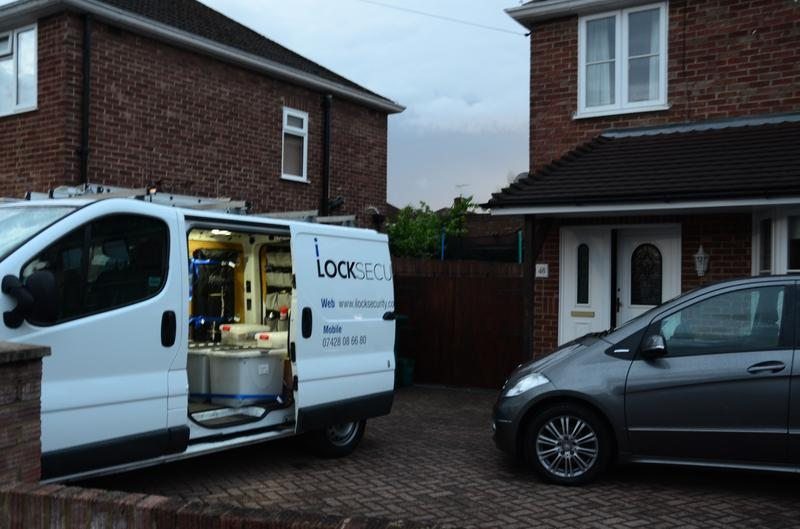 Image 5 - Our very first job. Realigning a UPVC door and fitting a new cylinder.