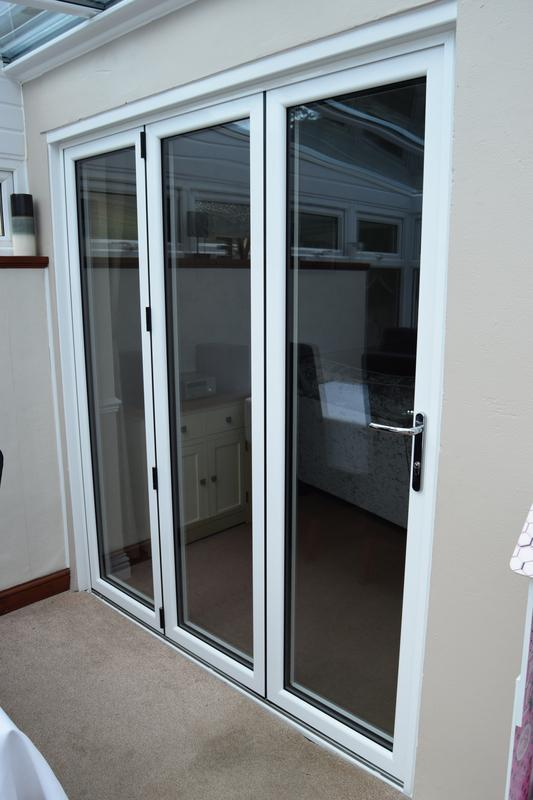 Image 104 - Aluminium Bifolding doors supplied and fitted