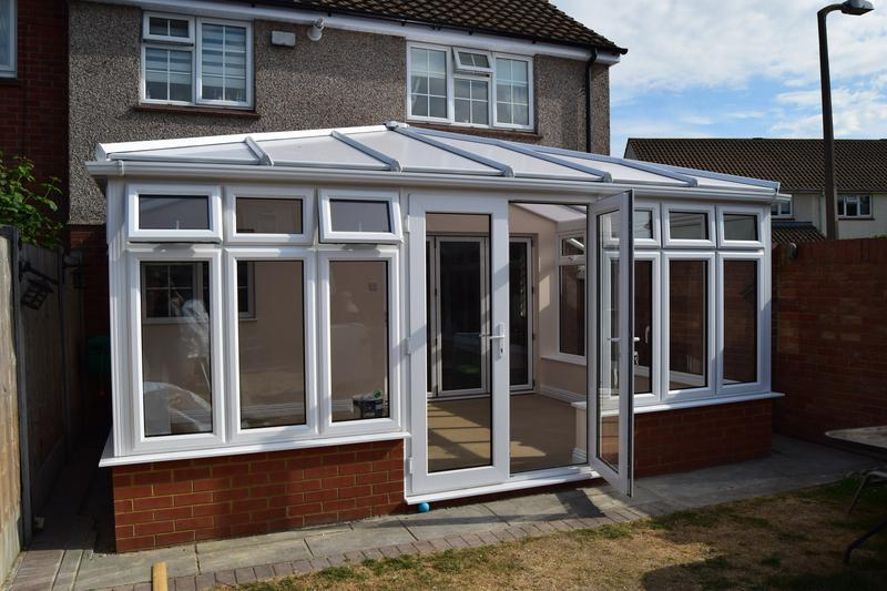 Image 111 - New conservatory installed in Thurrock with Opal Poly carbonate glazing