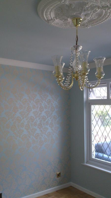 Image 23 - Laura Ashley Blue Wallpaper/Decor