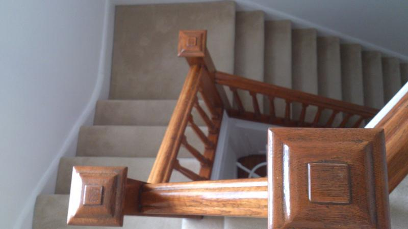 Image 30 - Upminster Staircase White Walls