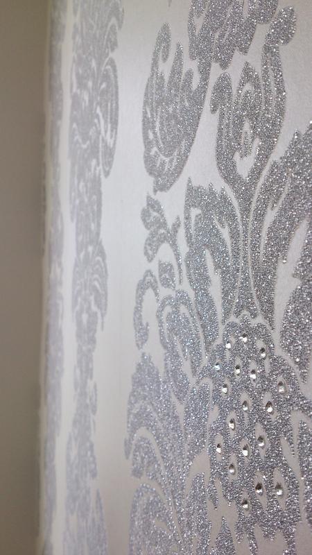Image 8 - Kandola Wallpaper with Swarovski Crystals