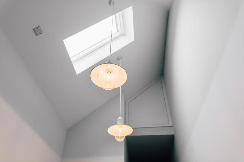 Image 26 - Garage high ceiling and Velux Window