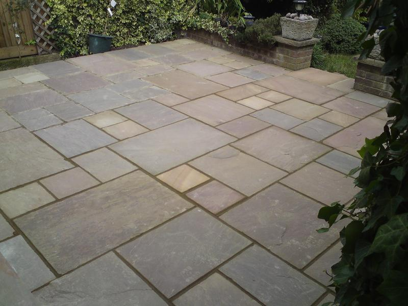Image 15 - indian sandstone patio Totteridge.