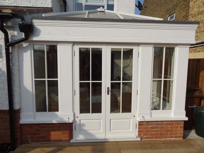 Image 7 - Bespoke timber conservatory see more at www.bdc-construction.co.uk