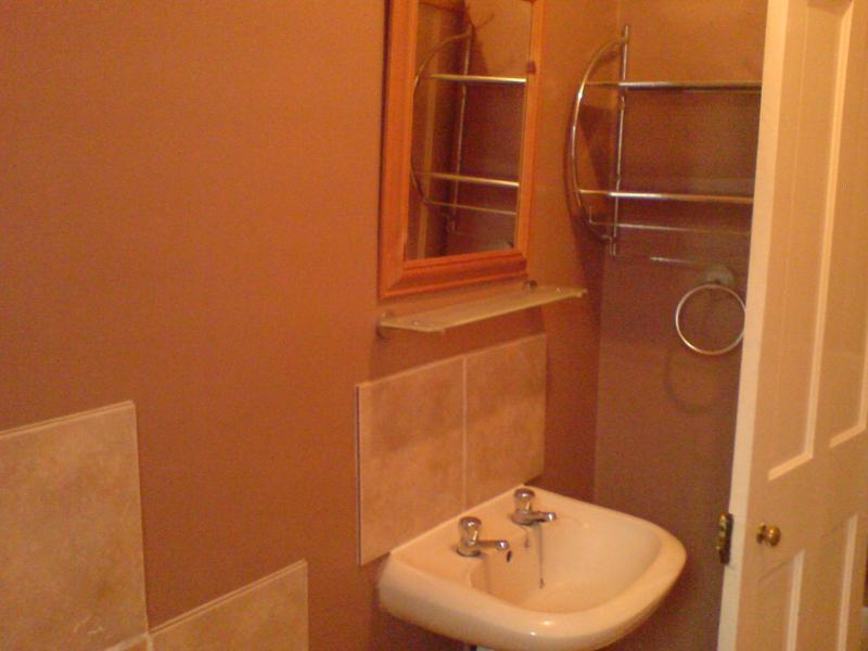 Image 12 - I fitted this sink, did the tiling, fitted the shelves and towel holder.