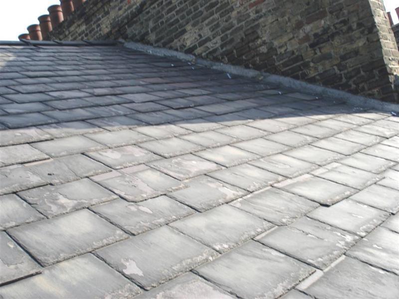Image 17 - Before restating & pointing chimney stack