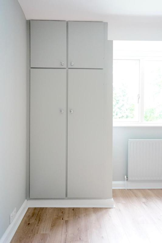 Image 84 - Wardrobes & Radiators colour-coded in the same colour as the walls. On trend with grey.