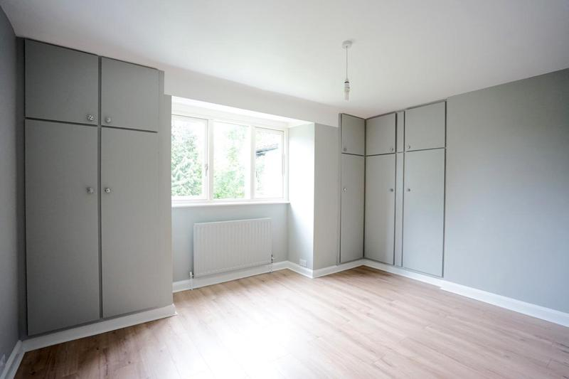 Image 85 - Wardrobes & Radiators colour-coded in the same colour as the walls. On trend with grey.