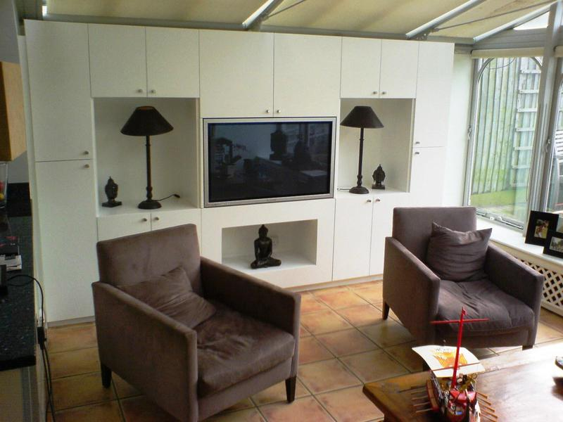 Image 8 - Custom made fitted TV cabinet