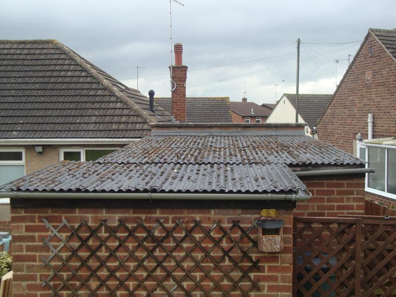Image 12 - Asbestos roof before strip