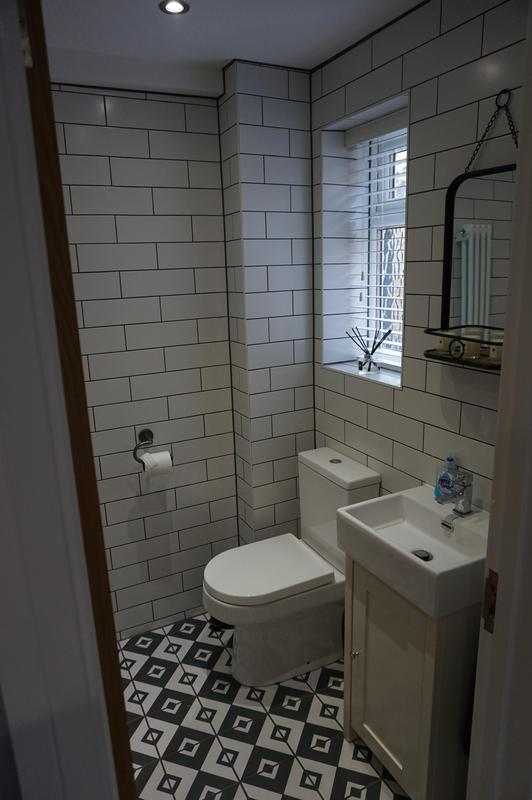 Image 60 - New downstairs WC added