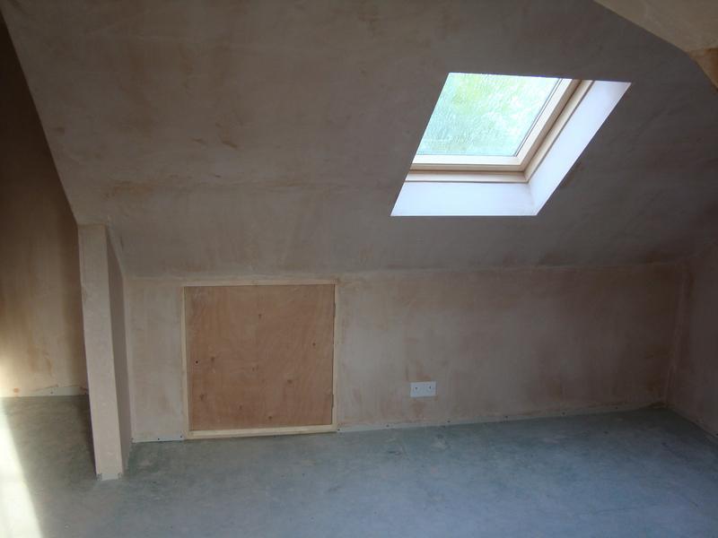 Image 20 - bedroom 2 showing velux & storage cupboard
