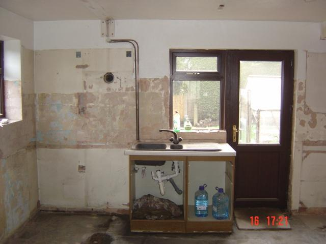 Image 23 - wall gone