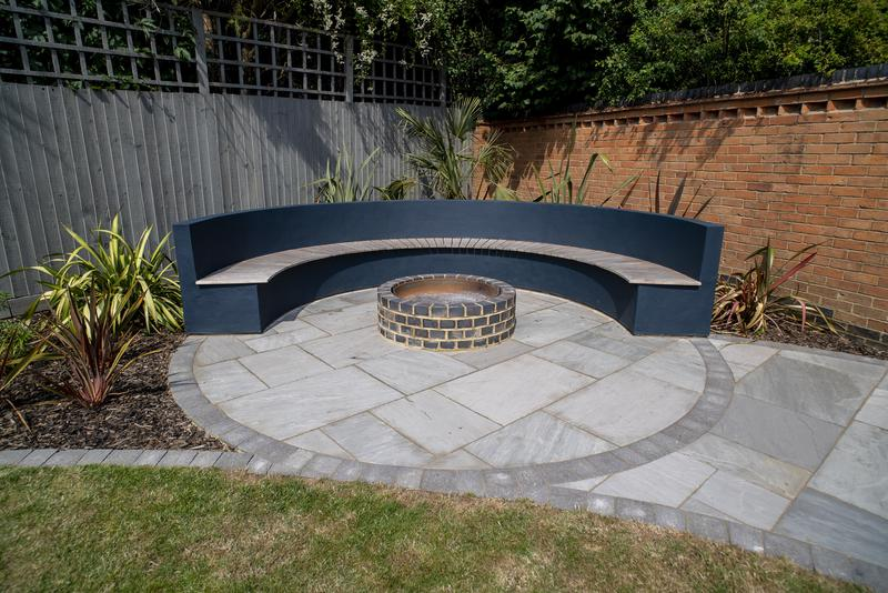 Image 13 - Bench and Firepit