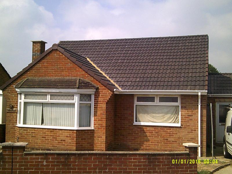 Image 72 - Replaced the old tiled roof and fitted the new roof including dry ridge and verge