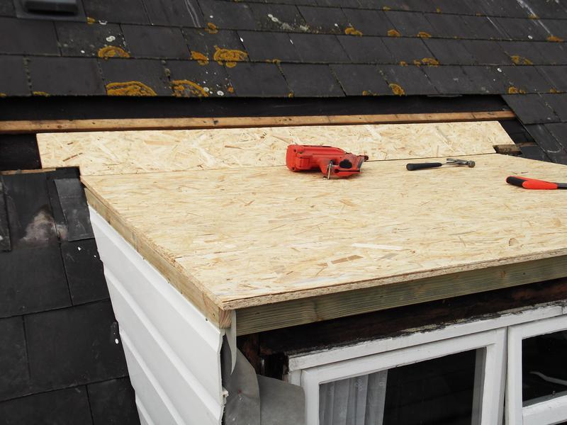 Image 5 - New stirling board and UPVC cladding to cheeks