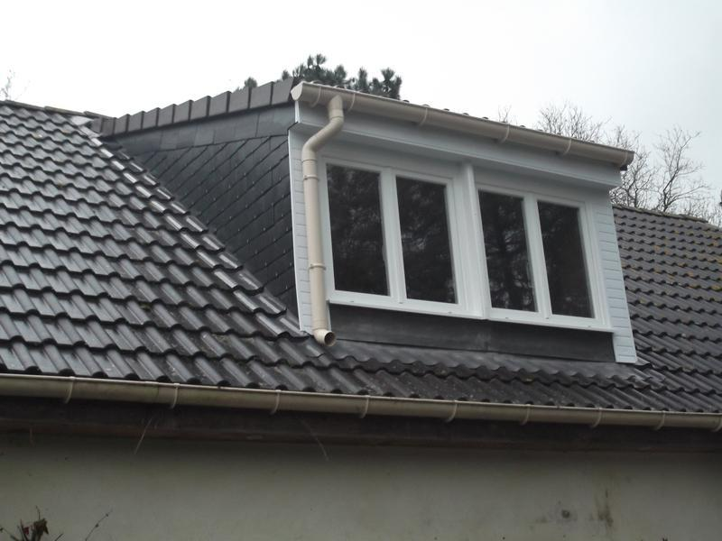 Image 9 - Finished dormer with pitched tile roof and natural slate cheeks