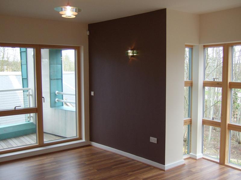Image 20 - flooring & decoration to studio flat