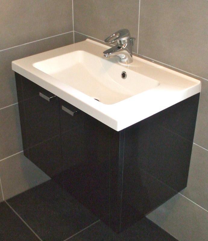 Image 12 - Wall Hung Basin & Vanity Unit