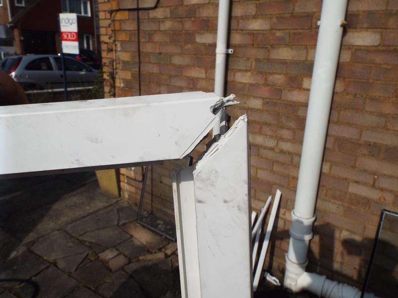 Image 33 - Broken Frame Repair (Before)
