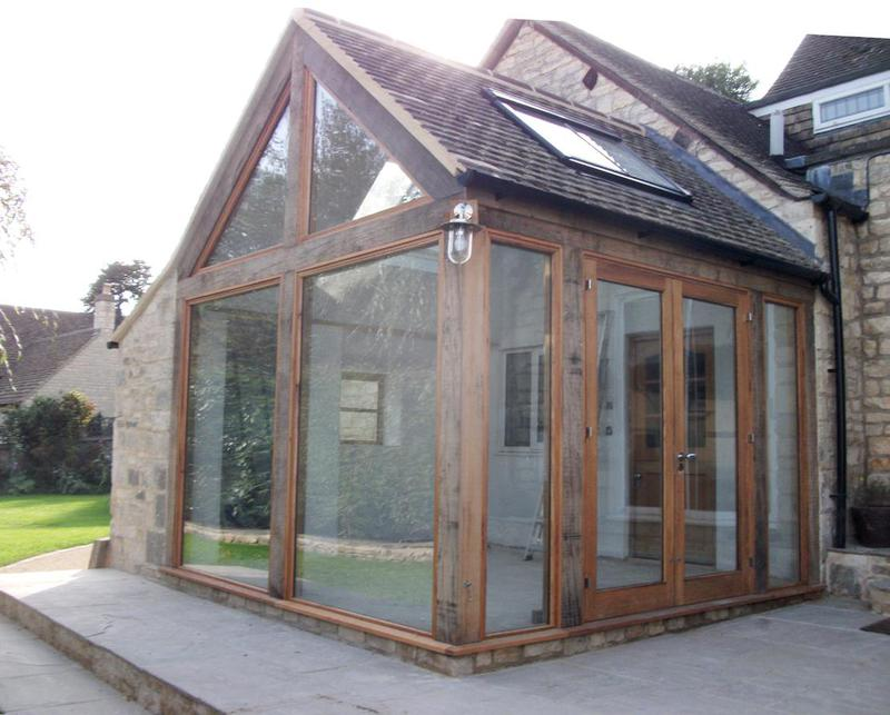Image 20 - Oak timber frame extension
