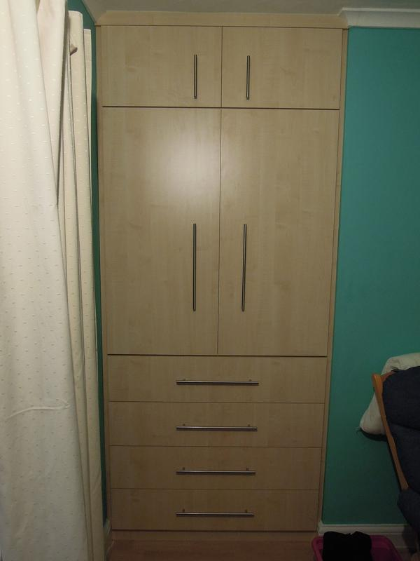 Image 11 - Bespoke Maple Wardrobe