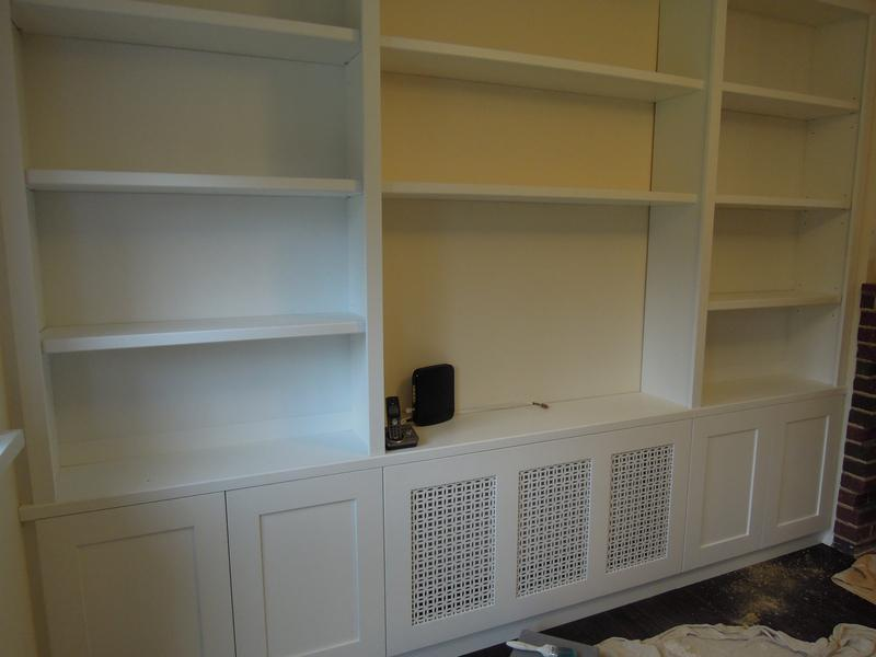 Image 28 - Wall unit with radiator cover
