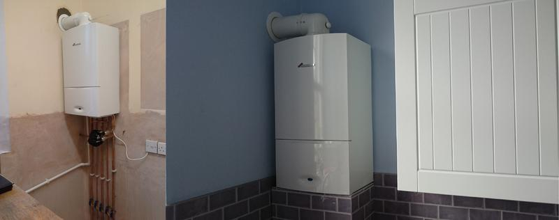 Image 9 - A new combi installed as part of a kitchen refurb.
