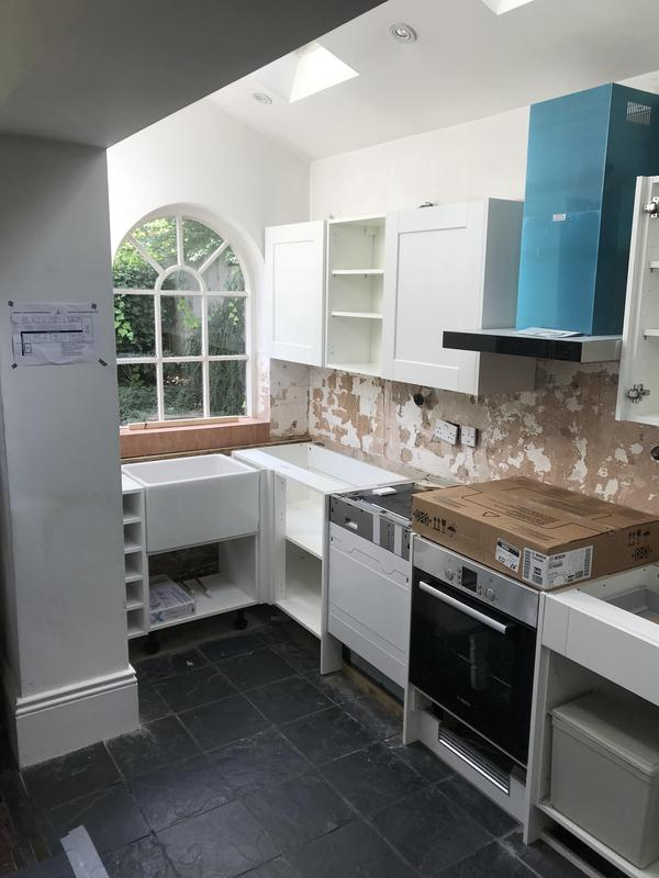 Image 109 - HIGHGATE - NEW KITCHEN INSTALLATION
