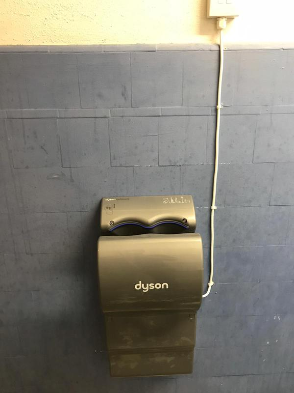 Image 12 - Dyson Hand dryer in bar