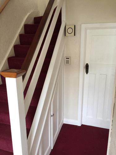 Image 28 - Painted hallway/stairway