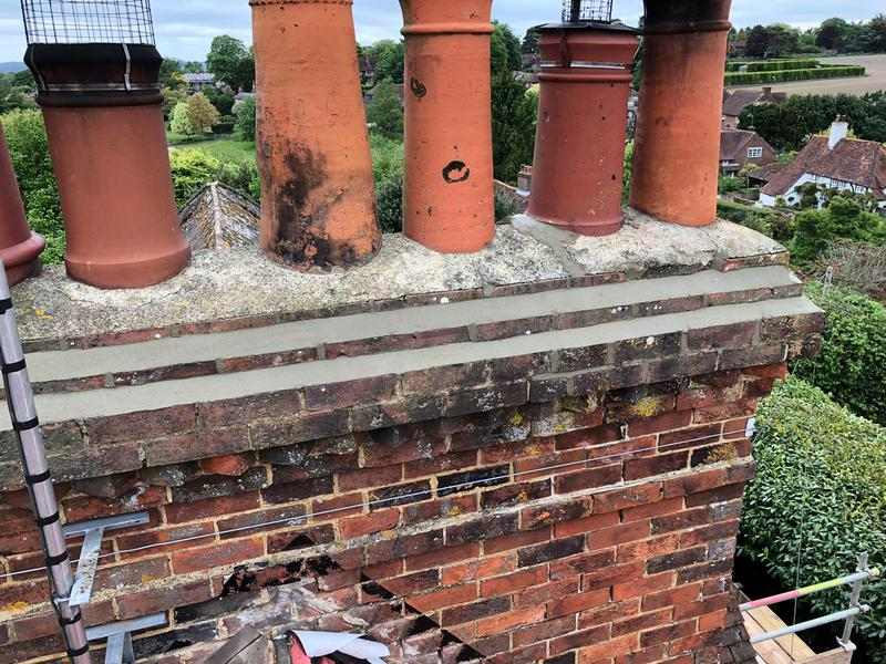 Image 4 - Chimney repairs in godalming