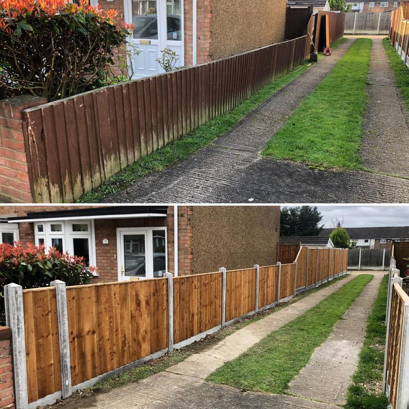 Image 16 - Fencing, Before & After