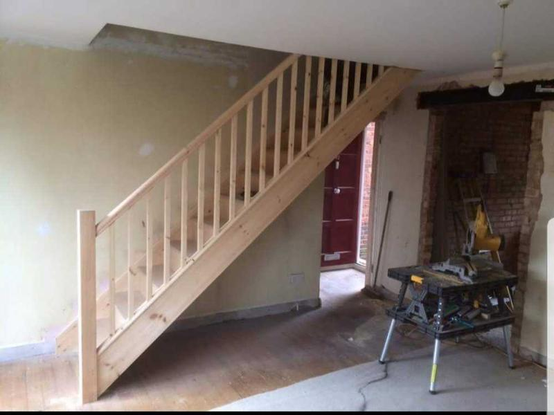 Image 23 - old staircase removed and new fitted ( Walton on Thames)