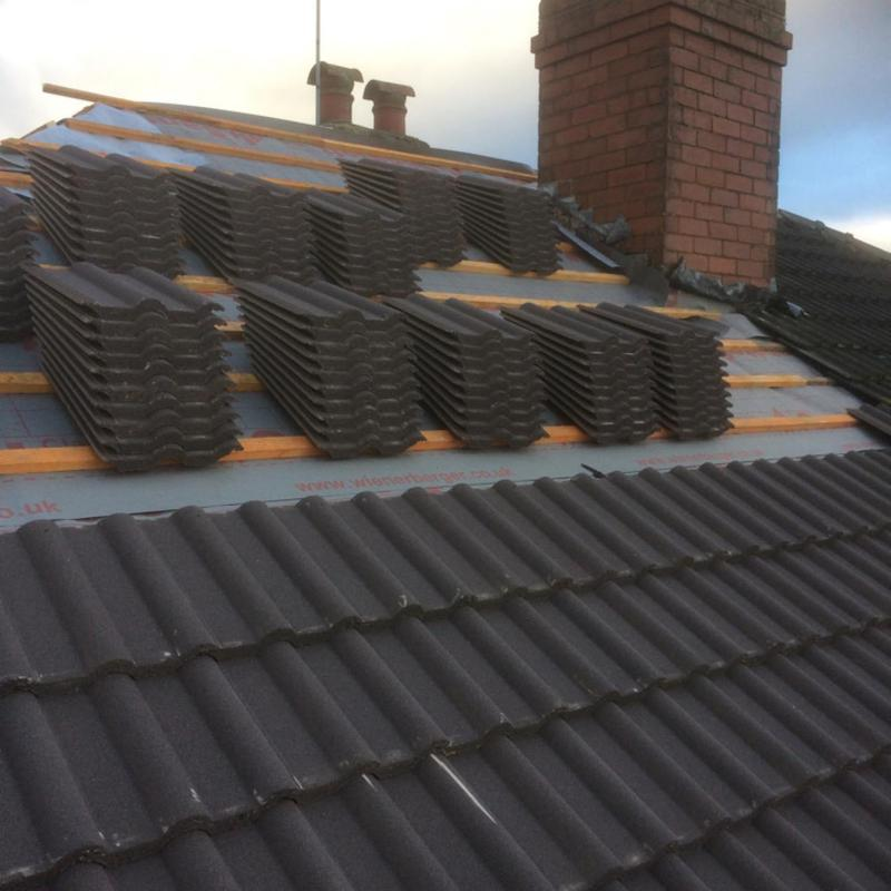 Image 31 - New roof