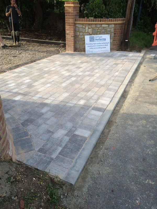 Image 5 - Entrance to property formed using trio block paving.